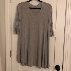 Grey dress from Altar'd State